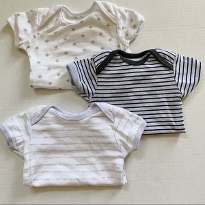 O-3 Month Neutral Onesies